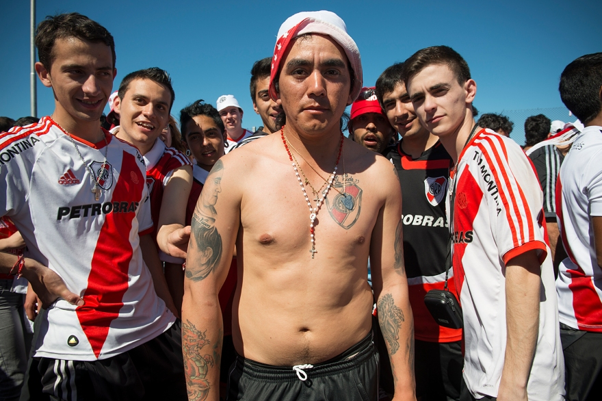 Argentina; Buenos Aires; River Plate Fan Tiago Lopes Fernandez All Rights Reserved